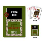 Christmas Clusters Playing Cards 3 - Playing Cards Single Design