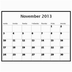 Pops Calendar By Deborah   Wall Calendar 11  X 8 5  (12 Months)   0hxzmfpncggs   Www Artscow Com Nov 2013
