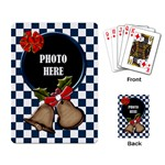 Rockin Around the Christmas Tree Playing Cards - Playing Cards Single Design