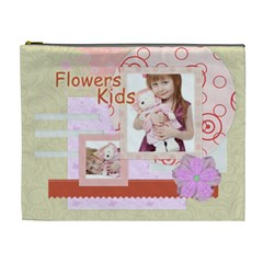 Flower Kids By Jo Jo   Cosmetic Bag (xl)   Njl61dfswu6c   Www Artscow Com Front