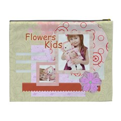 Flower Kids By Jo Jo   Cosmetic Bag (xl)   Njl61dfswu6c   Www Artscow Com Back