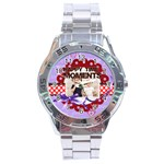 happy memonts - Stainless Steel Analogue Men's Watch