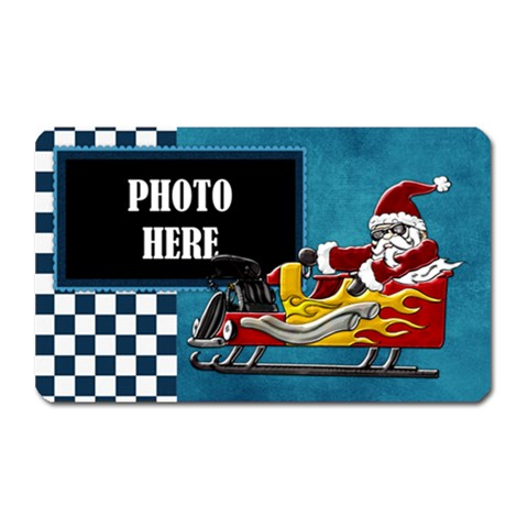 Rockin  Around The Christmas Tree Magnet 1 By Lisa Minor   Magnet (rectangular)   Fxe9hp3xokjy   Www Artscow Com Front