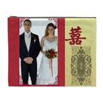 chinese wedding - Cosmetic Bag (XL)