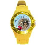Our Day Round Plastic Sport Watch Large