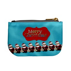 Merry Christmas By Patricia W   Mini Coin Purse   Kknzo4nesfz9   Www Artscow Com Back