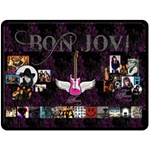bon jovi - Fleece Blanket (Large)