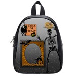 Happy Halloween Candy Bag (Small School Bag) - School Bag (Small)
