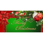 The Christmas Heart 3D Card 2012 - Twin Hearts 3D Greeting Card (8x4)