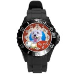 pet - Round Plastic Sport Watch (L)