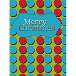 polka dot christmas - Greeting Card 4.5  x 6