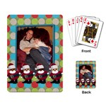 christmas playing cards - Playing Cards Single Design