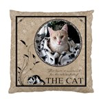 Cat Cushion Case (1 Sided) - Cushion Case (One Side)