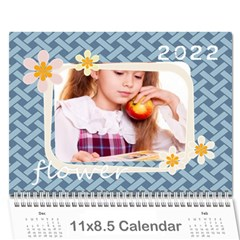 Flower Theme 2015 By Joely   Wall Calendar 11  X 8 5  (12 Months)   Xb0nhhrmp7ty   Www Artscow Com Cover