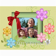 Flower Theme 2015 By Joely   Wall Calendar 11  X 8 5  (12 Months)   Xb0nhhrmp7ty   Www Artscow Com Month