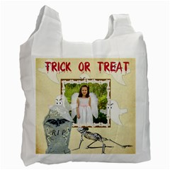 Trick Or Treat Recycle Bag 2 By Kim Blair   Recycle Bag (two Side)   Ezzqhlg68j1i   Www Artscow Com Front