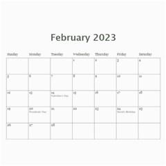 2015 New Calendar By Martha Meier   Wall Calendar 11  X 8 5  (12 Months)   Dx578txohn8p   Www Artscow Com Feb 2015