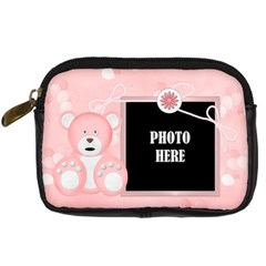 Watch Me Grow Girl Camera Case 1 By Lisa Minor   Digital Camera Leather Case   Uy9ond6063f8   Www Artscow Com Front