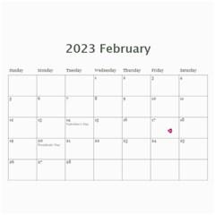 All Occassion 2019 Calendar By Kim Blair   Wall Calendar 11  X 8 5  (12 Months)   4ffdge9iia76   Www Artscow Com Feb 2020