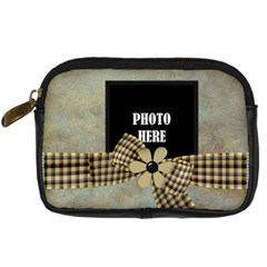 Crossing Winter Camera Case 2 By Lisa Minor   Digital Camera Leather Case   4le3cugx59ff   Www Artscow Com Front