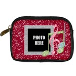 Holiday Melodies Camera Case 2 - Digital Camera Leather Case