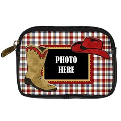 Lone Star Holidays Camera Case 2 By Lisa Minor   Digital Camera Leather Case   E2lb16k6nun7   Www Artscow Com Front