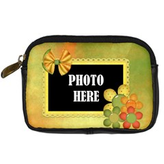An Early Fall Camera Case 2 By Lisa Minor   Digital Camera Leather Case   Adgu7l00q6nr   Www Artscow Com Front