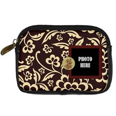 Koko Camera Case 2 By Lisa Minor   Digital Camera Leather Case   S90x2iinw8ax   Www Artscow Com Front