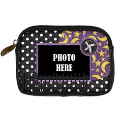 Not So Scary Camera Case 2 By Lisa Minor   Digital Camera Leather Case   B1sbh9udzamc   Www Artscow Com Front