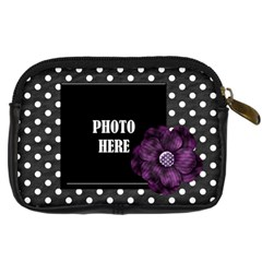 Not So Scary Camera Case 2 By Lisa Minor   Digital Camera Leather Case   B1sbh9udzamc   Www Artscow Com Back