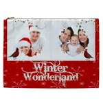 Winter Wonderland 2  XXL Cosmetics Bag - Cosmetic Bag (XXL)