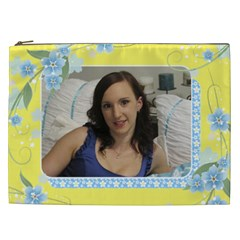 Sunny Days 2 Cosmetic Bag Xxl By Deborah   Cosmetic Bag (xxl)   7arjq6dmfb57   Www Artscow Com Front