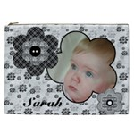 Black andWhite Selection Cosmetic Bag XXL - Cosmetic Bag (XXL)