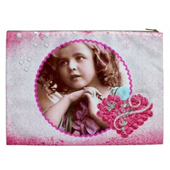Angel  Xxl Cosmetics Bag By Catvinnat   Cosmetic Bag (xxl)   C2sugtzqxex7   Www Artscow Com Back