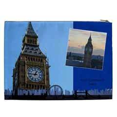 My London 2 Cosmetic Bag Xxl By Deborah   Cosmetic Bag (xxl)   Fvd92jus2utw   Www Artscow Com Back