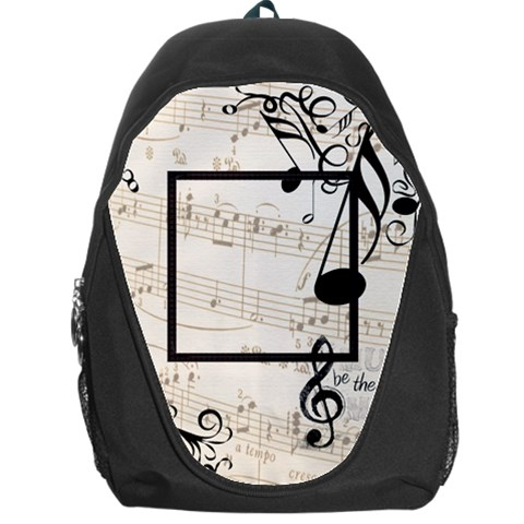 Music Backpack By Catvinnat   Backpack Bag   0m4kqo22405n   Www Artscow Com Front