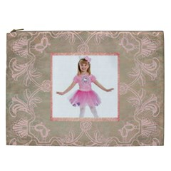 Ballerina  Xxl Cosmetics Bag By Catvinnat   Cosmetic Bag (xxl)   Nt58dq8lvn11   Www Artscow Com Front