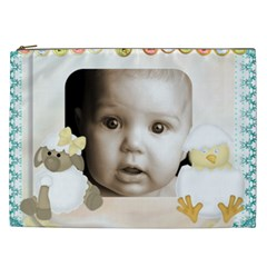 Lamb N Chick  Xxl Cosmetics Bag By Catvinnat   Cosmetic Bag (xxl)   E83vhxthxxzg   Www Artscow Com Front