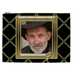 Black and Gold Cosmetic Bag XXL - Cosmetic Bag (XXL)