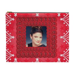 Rose Frame Cosmetic Bag (xl) By Kim Blair   Cosmetic Bag (xl)   K4xojun9f092   Www Artscow Com Front