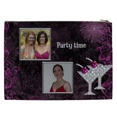 Party Time Cosmetic Bag Xxl By Deborah   Cosmetic Bag (xxl)   D0g1rfo4g8lz   Www Artscow Com Back