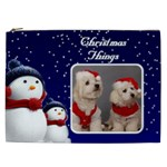 Christmas Things Cosmetic Bag 3 XXL - Cosmetic Bag (XXL)
