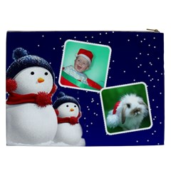 Christmas Things Cosmetic Bag 3 Xxl By Deborah   Cosmetic Bag (xxl)   45j41xebn0c0   Www Artscow Com Back