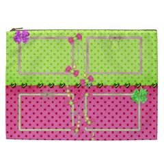 Little Princess Cosmetic Bag Xxl By Deborah   Cosmetic Bag (xxl)   9j98aobijtva   Www Artscow Com Front