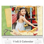 2013 calendar - Wall Calendar 11  x 8.5  (12-Months)