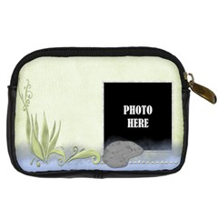 Beach Times Camera Bag 2 By Lisa Minor   Digital Camera Leather Case   Ieglcsiskgfz   Www Artscow Com Back