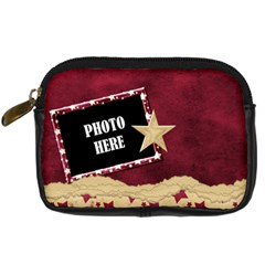 A Day To Celebrate Camera Case 2 By Lisa Minor   Digital Camera Leather Case   1d3ue63ib5vq   Www Artscow Com Front