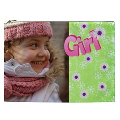 Girl Cosmetic Bag Xxl By Deborah   Cosmetic Bag (xxl)   03dcyg71j2du   Www Artscow Com Front