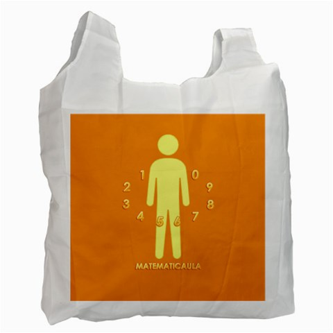 Bolsa   Alrededor By Matematicaula   Recycle Bag (one Side)   Wg7esu3izcd6   Www Artscow Com Front