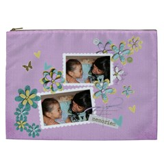 Cosmetic Bag (xxl)   Memories By Jennyl   Cosmetic Bag (xxl)   Qgduh3jgrb25   Www Artscow Com Front